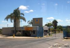 Main entrance to AFB Makhado.